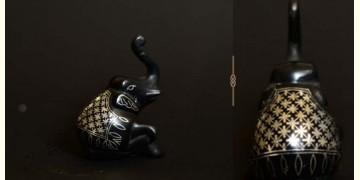 Bidri ✡ Elephant Paper Weight ✡ 11