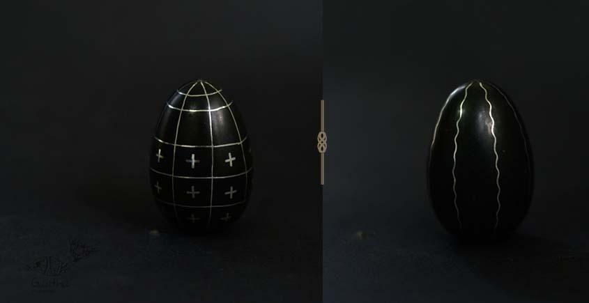 Bidri ✡ Egg paper Weight ✡ 30