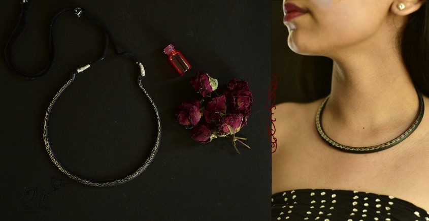 Raginee . रागिनी ✧ Inlaid Necklace ✧ 47A