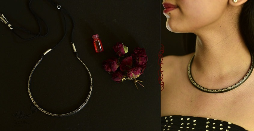 Raginee . रागिनी ✧ Inlaid Necklace ✧ 47C