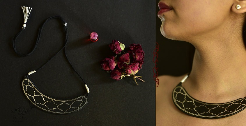Raginee . रागिनी ✧ Inlaid Necklace ✧ 48A