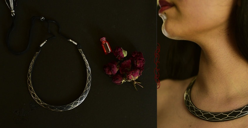 Raginee . रागिनी ✧ Inlaid Necklace ✧ 48B