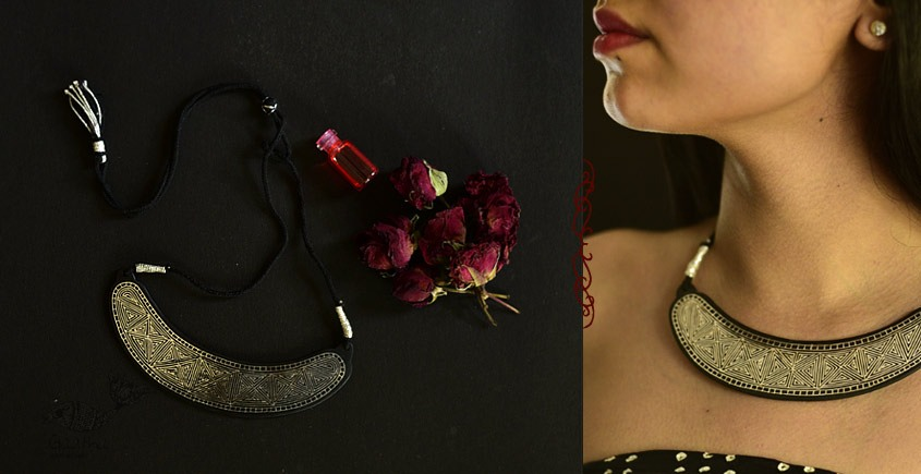 Raginee . रागिनी ✧ Inlaid Necklace ✧ 49A