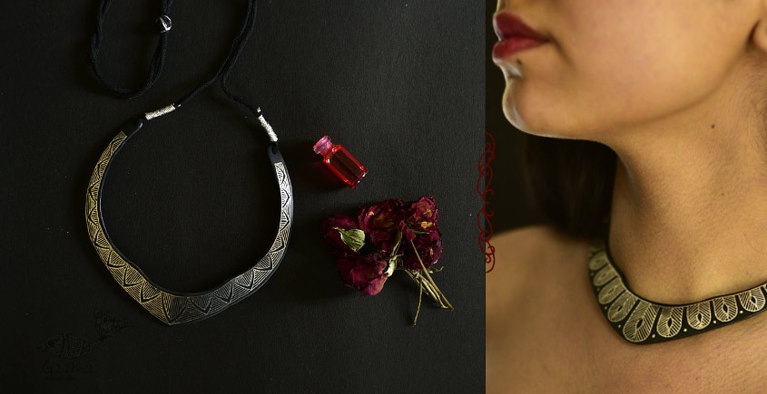 Raginee . रागिनी ✧ Inlaid Necklace ✧ 51B
