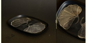 Bidri ✡ New platter Mohsin 2 Leaves ✡ 18