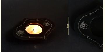 Bidri ✡ Mughal T light Holder ✡ 19