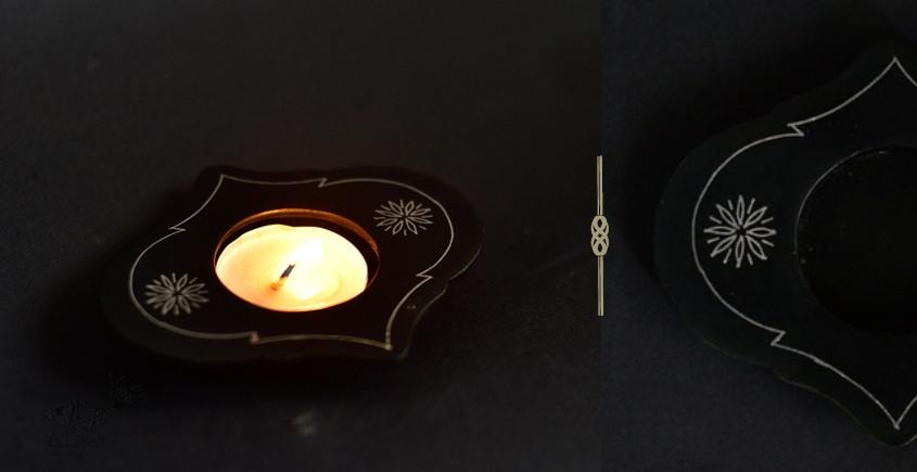 Bidri ✡ Mughal T light Holder ✡ 26
