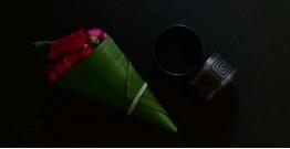 Moh . मोह ✡ Inlaid Bangle (Single Piece) ✡ 43A (6cm x 3.7cm)