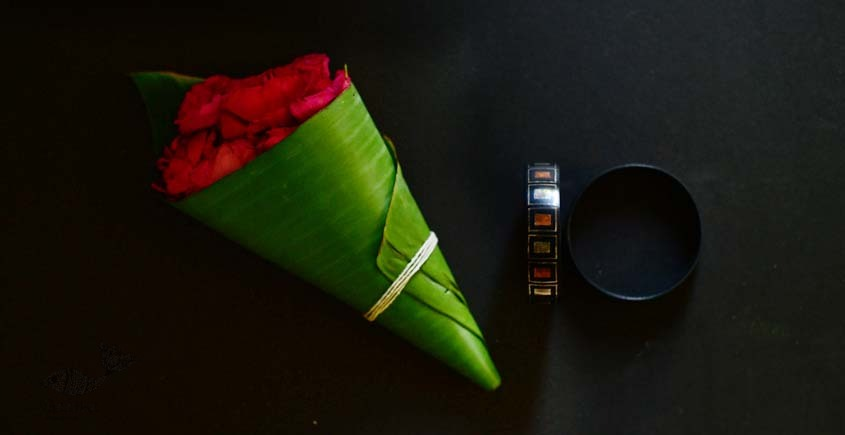 exclusive new collection of Silver Inlaid bangle 45a