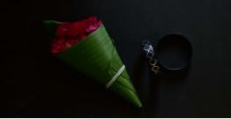 Moh . मोह ✡ Inlaid Bangle (Single Piece) ✡ 45D (6.5cm x 1.5cm)