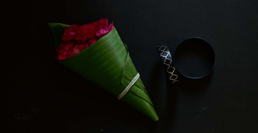 exclusive new collection of Silver Inlaid bangle 45d