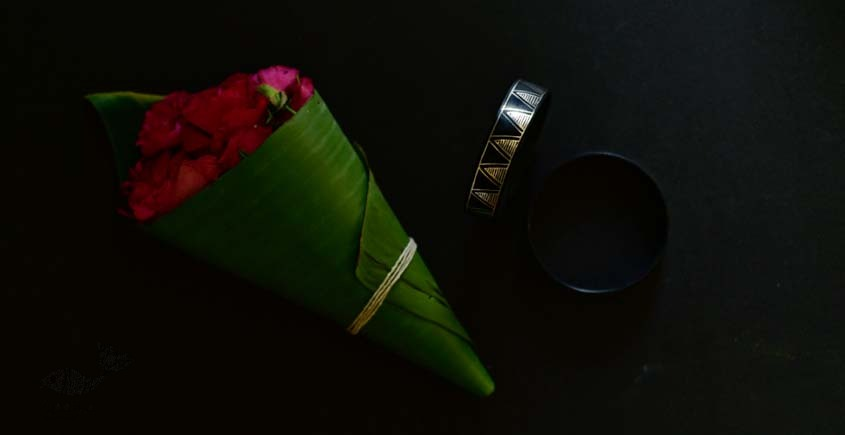exclusive new collection of Silver Inlaid bangle 45e