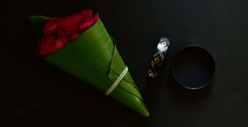exclusive new collection of Silver Inlaid bangle 45f