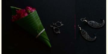 Moh . मोह ✡ Inlaid Earring ✡ 42B