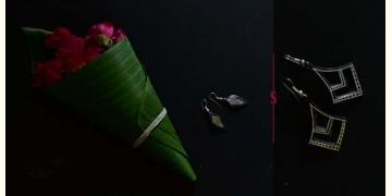 Moh . मोह ✡ Inlaid Earring ✡ 42E