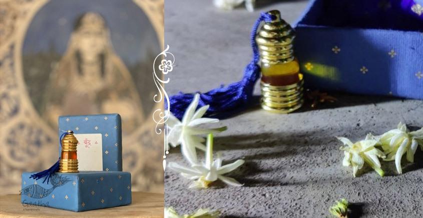 Pure organic fragrance of Jasmine / Mogra - Fragrant oil