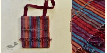 "Treasure Trove ♠ Handwoven ♠ Sling Bag (11"" x 12.5"") ~ A"