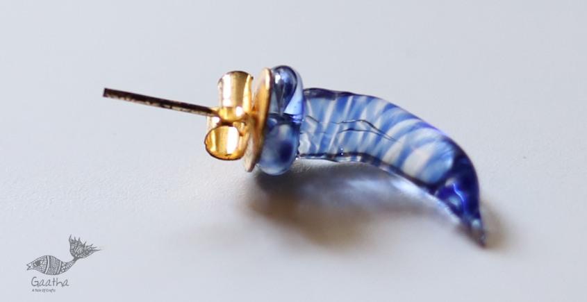 Zeenat ✤ Glass Jewelry ✤ ( Single Stud ) ~ 74