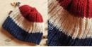 Rugby Stripes Hand Knitted Woolen Cap