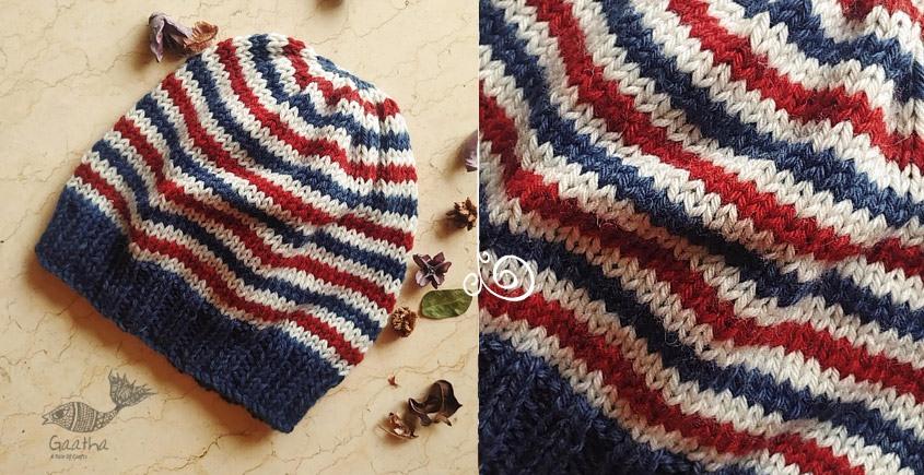 Buy online soft woolen handmade cap