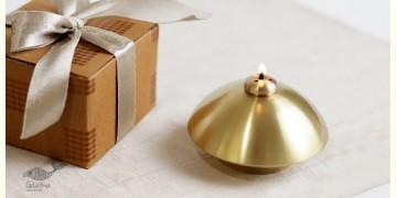 ताम्र ✤ 7 ✤ SANCHI OIL LAMP BRASS