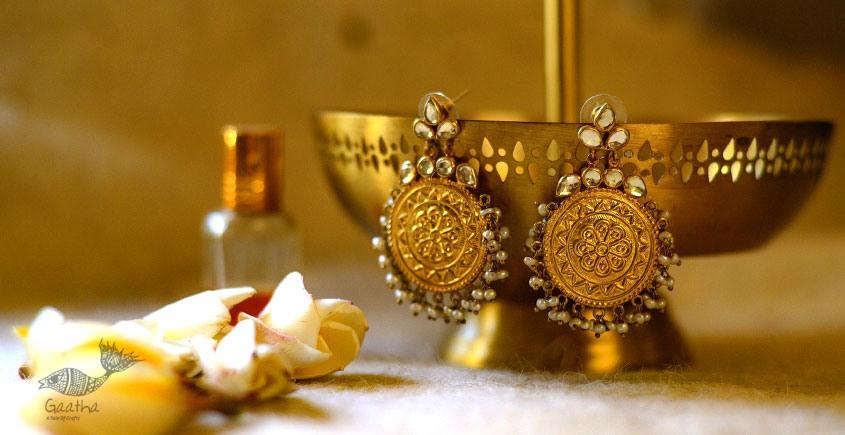 श्रीरूपा  | Silver Earring | Paripatra ~ 1