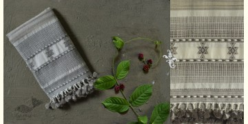Beyond The Basics ✜ Handwoven Bhujodi Cotton Wool Stole (Two Options) ✜ 34