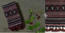 Beyond The Basics ✜ Handwoven Bhujodi Kala Cotton Stole ✜ 35