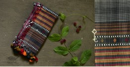 Beyond The Basics ✜ Handwoven Bhujodi Cotton Stole ✜ 1