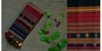 Beyond The Basics ✜ Handwoven Bhujodi Cotton Stole ✜ 17B