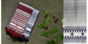 Beyond The Basics ✜ Handwoven Bhujodi Cotton Stole ( Five Options ) ✜ 3