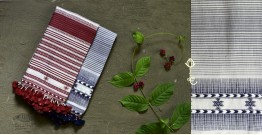 Beyond The Basics ✜ Handwoven Bhujodi Cotton Stole ( Four Options ) ✜ 3