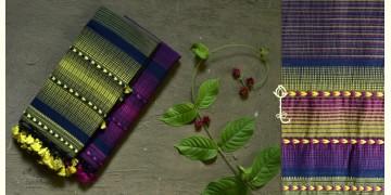 Beyond The Basics ✜ Handwoven Bhujodi Cotton Stole (Three Options) ✜ 5