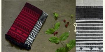 Beyond The Basics ✜ Handwoven Bhujodi Cotton Stole (Two Options) ✜ 6