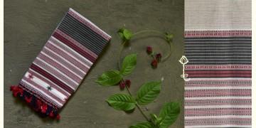Beyond The Basics ✜ Handwoven Bhujodi Cotton Stole (Two Options) ✜ 7