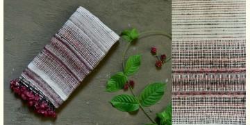 Beyond The Basics ✜ Handwoven Bhujodi Cotton & Tussar Silk Stole ✜ 19