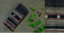 Beyond The Basics ✜ Handwoven Bhujodi Cotton & Tussar Silk Stole ✜ 19A