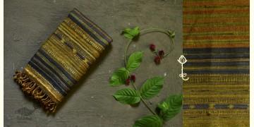 Beyond The Basics ✜ Handwoven Bhujodi Cotton & Tussar Silk Stole ✜ 23