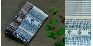 Beyond The Basics ✜ Handwoven Bhujodi Cotton & Tussar Silk Stole (Four Options) ✜ 20