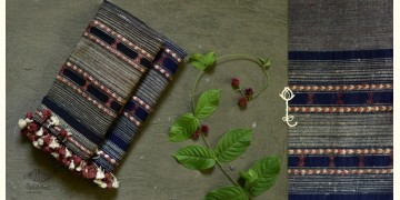 Beyond The Basics ✜ Handwoven Bhujodi Cotton & Tussar Silk Stole (Three Options) ✜ 21