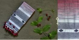 Beyond The Basics ✜ Handwoven Bhujodi Kala Cotton Stole ✜ 13
