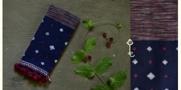 Beyond The Basics ✜ Handwoven Bhujodi Kala Cotton Stole ✜ 14