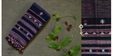 Beyond The Basics ✜ Handwoven Bhujodi Kala Cotton Stole ✜ 15