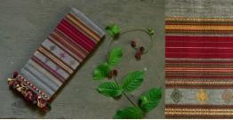 Beyond The Basics ✜ Handwoven Bhujodi Kala Cotton Stole ✜ 17C