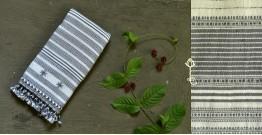 Beyond The Basics ✜ Handwoven Bhujodi Kala Cotton Stole ✜ 9