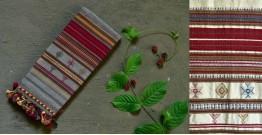 Beyond The Basics ✜ Handwoven Bhujodi Kala Cotton Stole (Two Option) ✜ 17