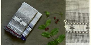 Beyond The Basics ✜ Handwoven Bhujodi Kala Cotton Stole (Two Option) ✜ 8