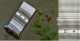Beyond The Basics ✜ Handwoven Bhujodi Kala Cotton Stole (Two Options) ✜ 10