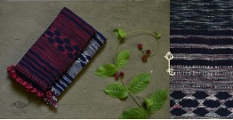 Beyond The Basics ✜ Handwoven Bhujodi Kala Cotton Stole (Two Options) ✜ 11