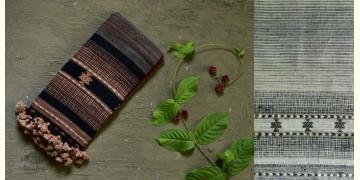 Beyond The Basics ✜ Handwoven Bhujodi Cotton & Tussar Silk Stole (Three Options) ✜ 20C